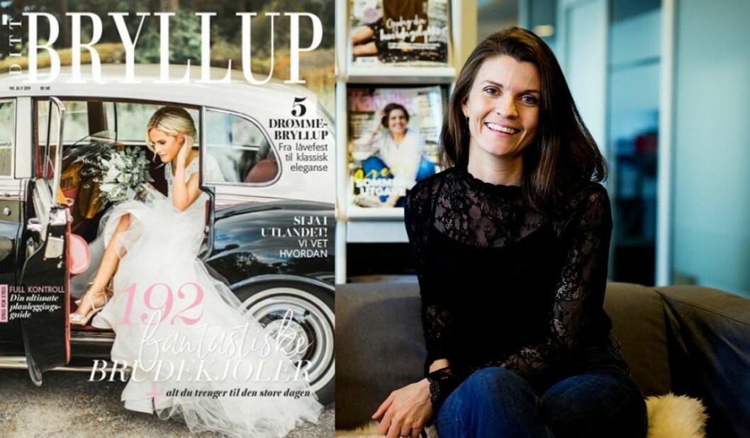 Madeleine Strand er redaktør for blant annet Ditt Bryllup.