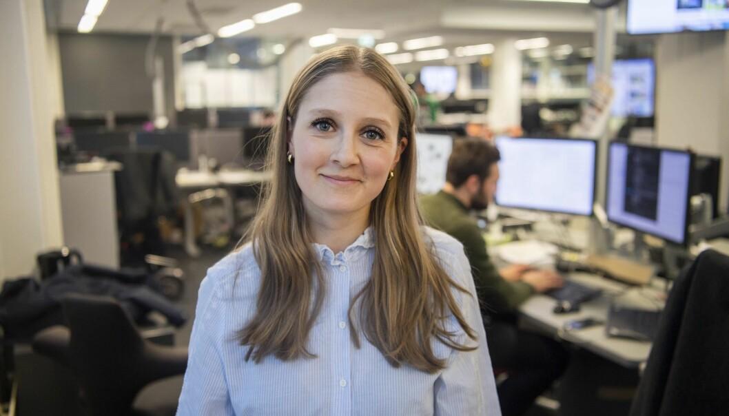 Mina Liavik Karlsen skal lede E24s nyhetsarbeid fremover.
