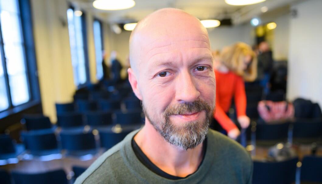 Etikkredaktør Per Arne Kalbakk i NRK.
