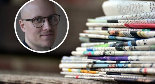 Over 220 papiraviser kommer fortsatt ut i Norge. Nyhetskresne lesere har grunn til å være såra