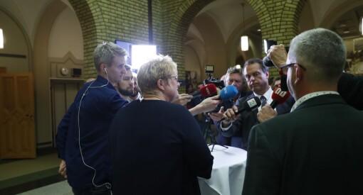 VG, NRK, TV 2 eller DN? Desse vann nyheitskampen om regjeringskabalen