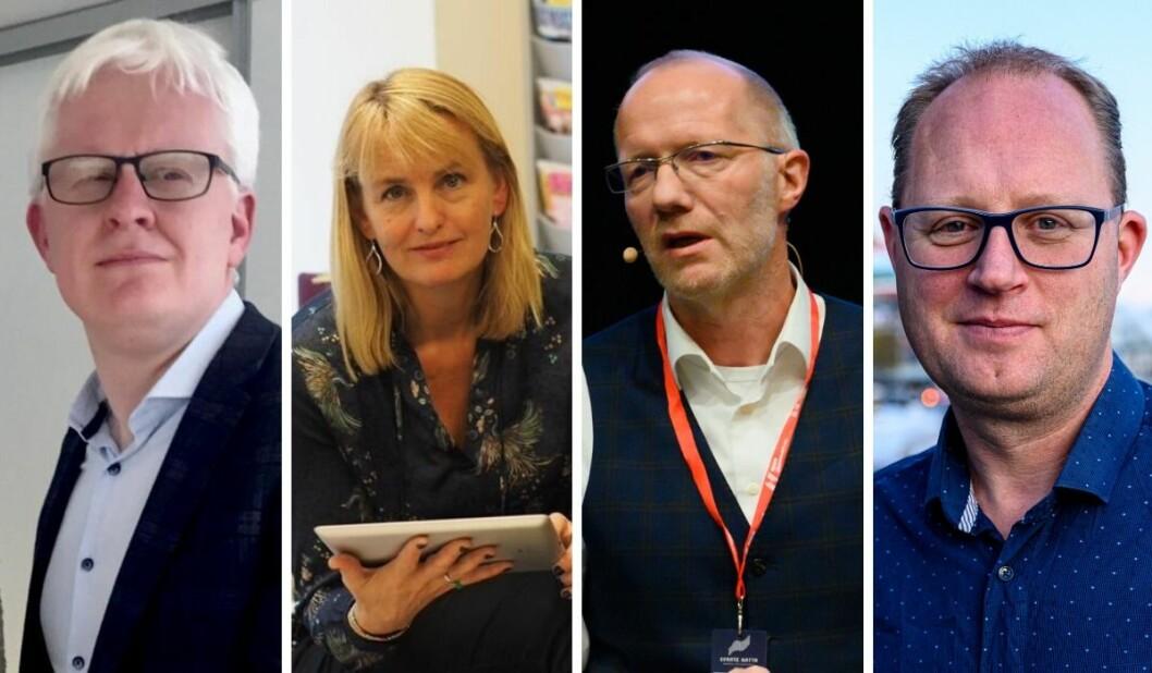 Dag Idar Tryggestad, Randi Øgrey, Arne jensen og Tomas Bruvik deler sine forventinger til ny kulturminister.