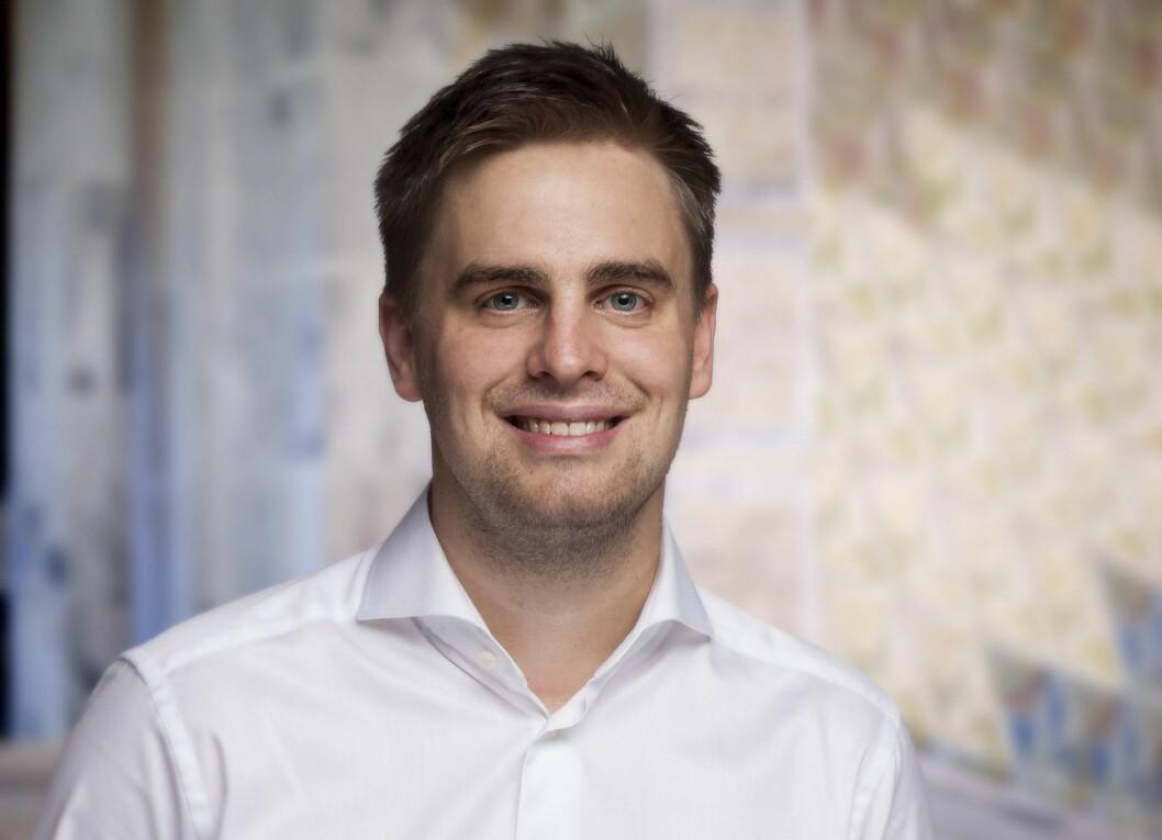 Eivind Trædal (bildet) er kritisk til Mathias Fischers overgang fra PR-rådgiver til statssekretær.
