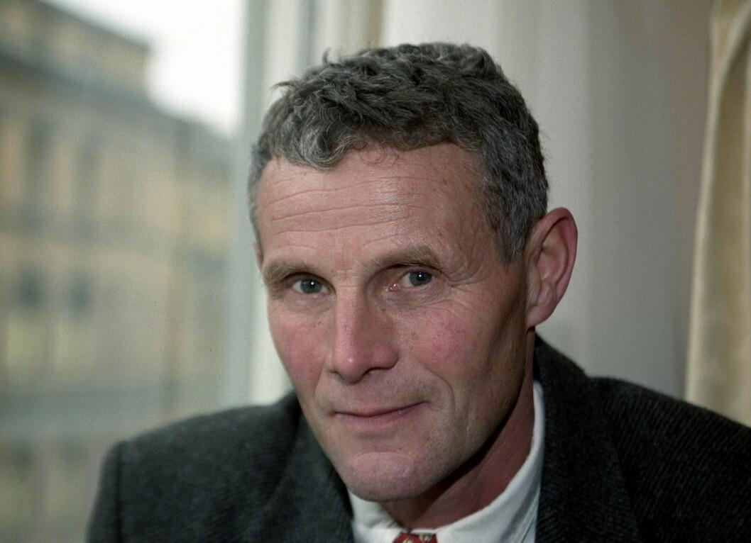 Forfatter og journalist Tor Obrestad.