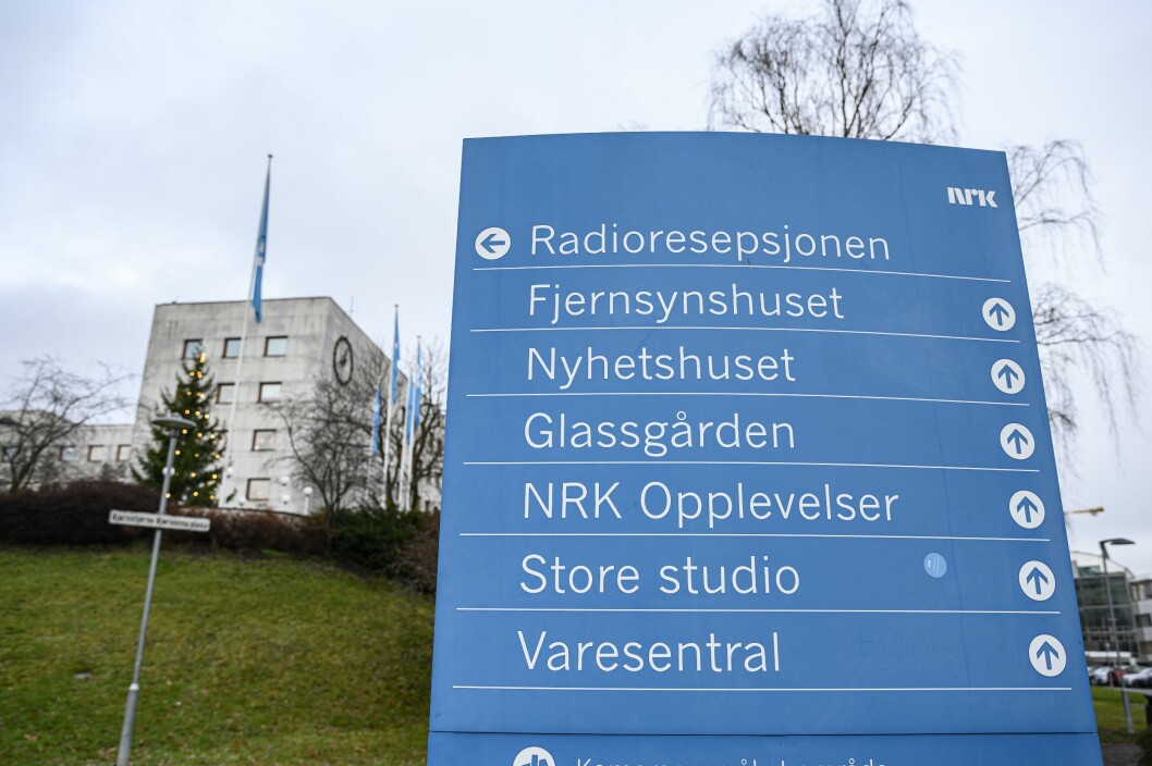 Nettverkstrøbbel skapte utfordringer på NRK-bygget på Marienlyst tirsdag.