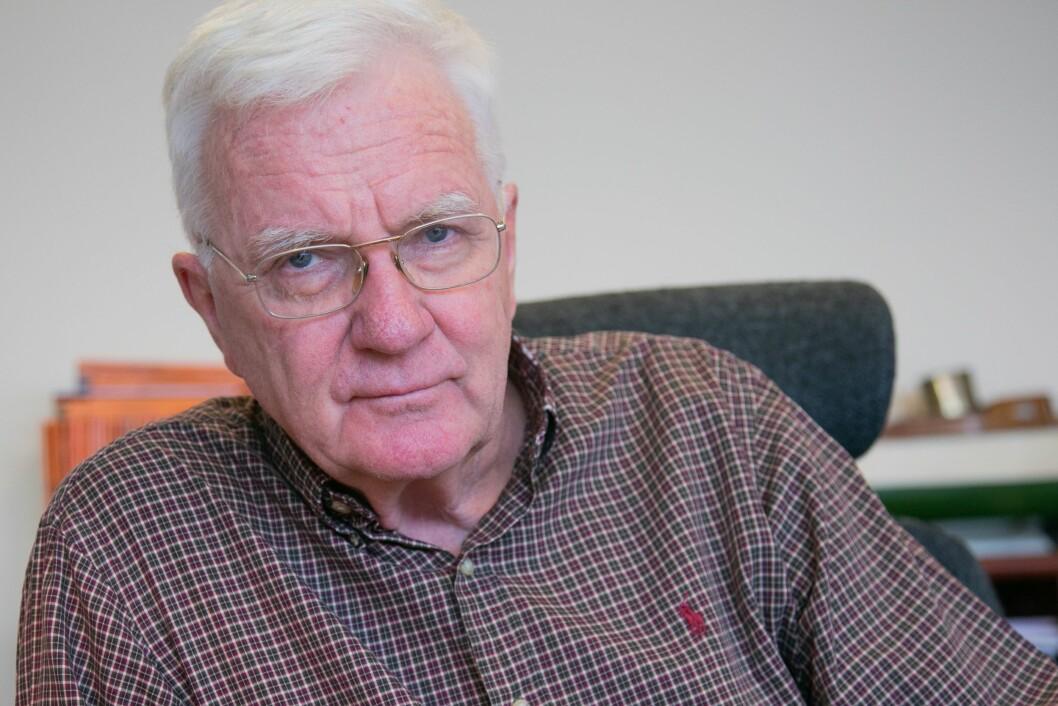 Hegnar Media-sjef Trygve Hegnar har får kritikk for at redaksjonene hans ikke har skrevet nok om Hurtigruten-skandalen.