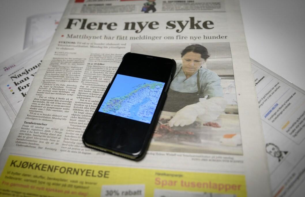«En fjerdedel av norske kommuner har svak mediedekning. Det er ingen tvil om at mediemangfoldet i Norge er truet», skriver Erik Wilberg.