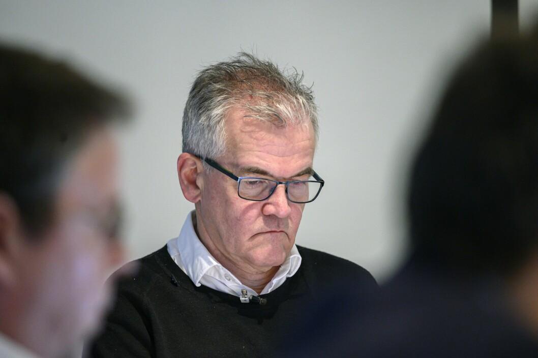 PFU-leder Alf Bjarne Johnsen ledet møtet onsdag 29. januar, der det var enighet om å felle NRK.