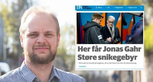Mímir Kristjánsson raser mot DN-oppslaget om Støres snikebot: – En tullesak