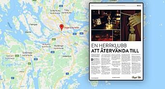 Svenske Dagens Nyheter ber leserne om unnskyldning etter å ha publisert reklame for strippeklubb