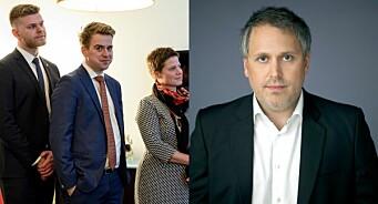 Mathias Fischers bakgrunn fra PR-bransjen er ikke i seg selv problematisk