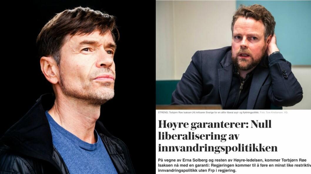 Kjetil Rolness og VGs artikkel.