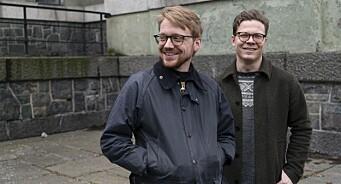 Hans Christian Paulsen (28) og Morten Marius Larsen (30) har fått fast jobb i Vårt Land