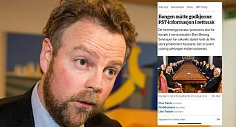 Røe Isaksen reagerer på NRK-sak: – Vet ikke statskanalen hva Kongen i statsråd er?