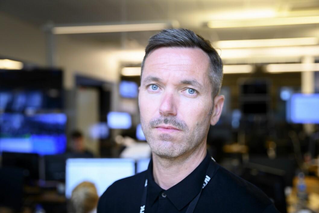 Fagredaktør Marius Tetlie i NRK Nyheter.
