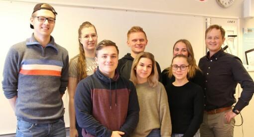 Snart overtar sju elever Hitra-Frøya: – De får hele staben å leke seg med, sier sjefredaktøren