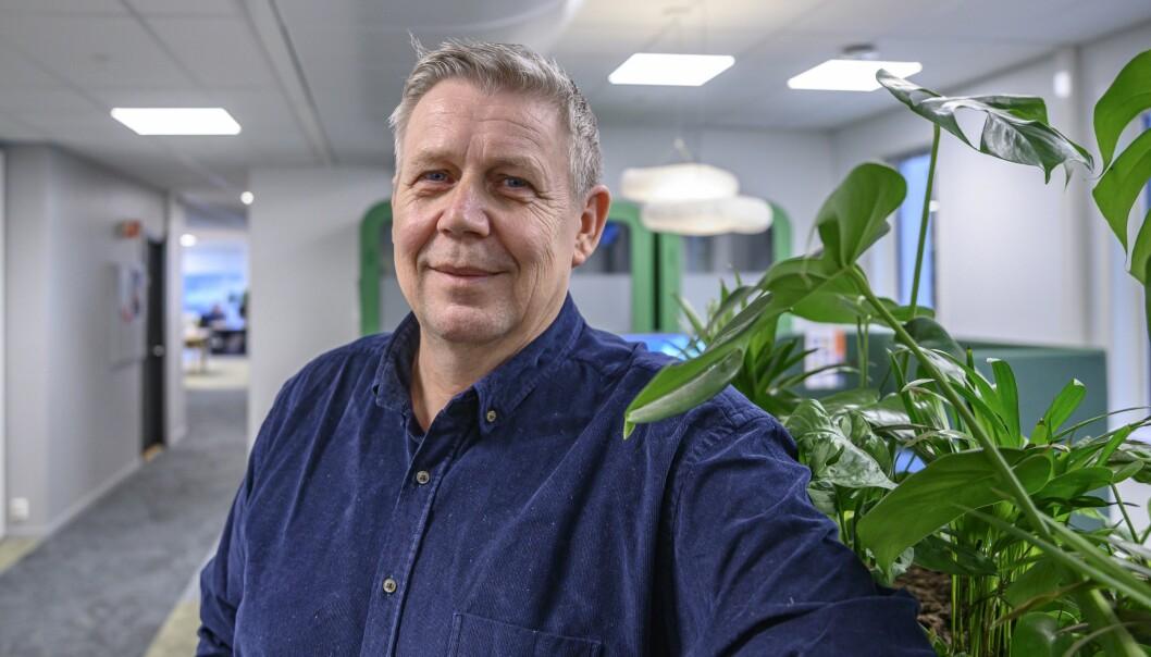 Eivind Landsverk, programdirektør i Discovery.
