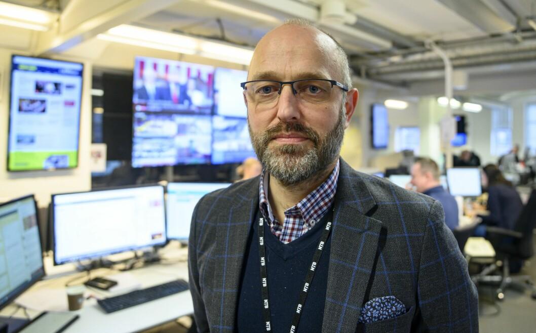 NTB-sjef Mads Yngve Storvik.