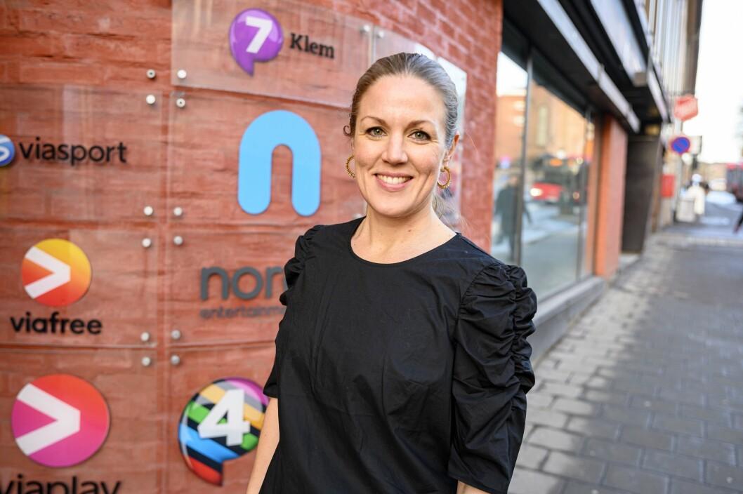 NENTs sportssjef i Norge, Cecilia Gave.