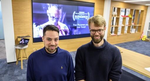 VGTV-duo vant Sundance-pris - i dag ble de hedret på desken: – Veldig overveldende
