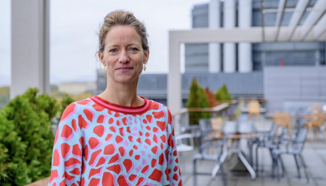 Konsernsjef i NHST, Hege Yli Melhus Ask, erkjenner at 2019 har vært et vanskelig år, men ser positivt på 2020.
