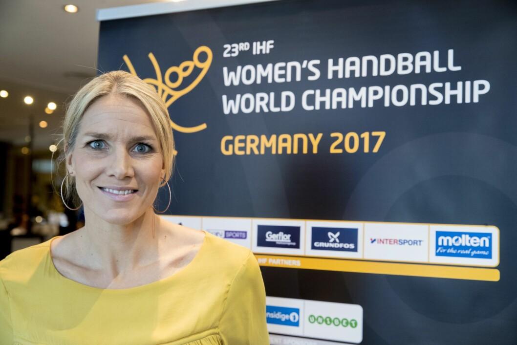 Gro Hammerseng-Edin gleder seg til å få ta fatt på sin nye jobb.