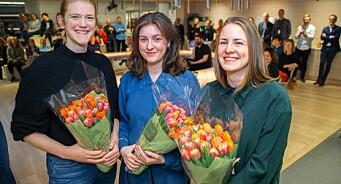 Forklart ansetter tre i fast stilling: Marit Eriksdatter Gjellan, Fride Næss Nonstad og Anne Lindholm