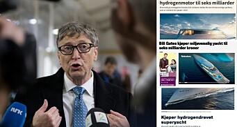 Dagbladet, Nettavisen og E24 ble lurt av feilaktig viralsak om Bill Gates: – Skal selvsagt ikke skje