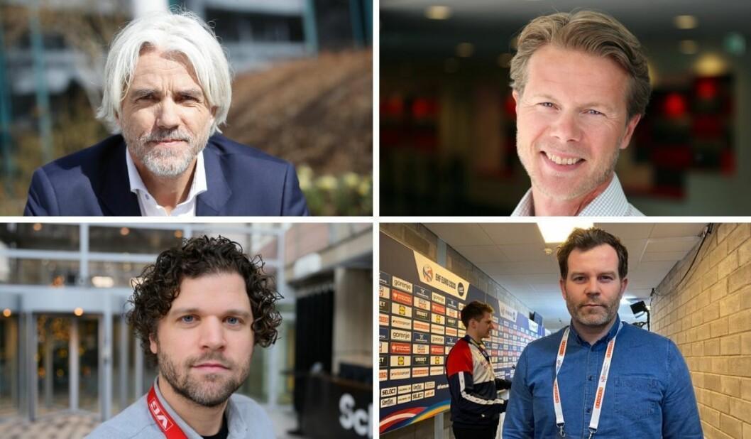 Hverken Egil Sundvor (NRK), Morten Johannessen (Eurosport/Discovery), Eirik Borud (VG) eller Eirik Fardal (Aftenposten) har noen kvinnelige meningsbærende kommentatorer for øyeblikket.