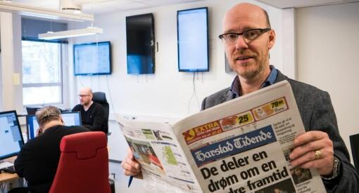 Harstad Tidende om ny konkurranse fra Amedia: – Jeg lyver om jeg sier jeg ikke frykter konkurransen