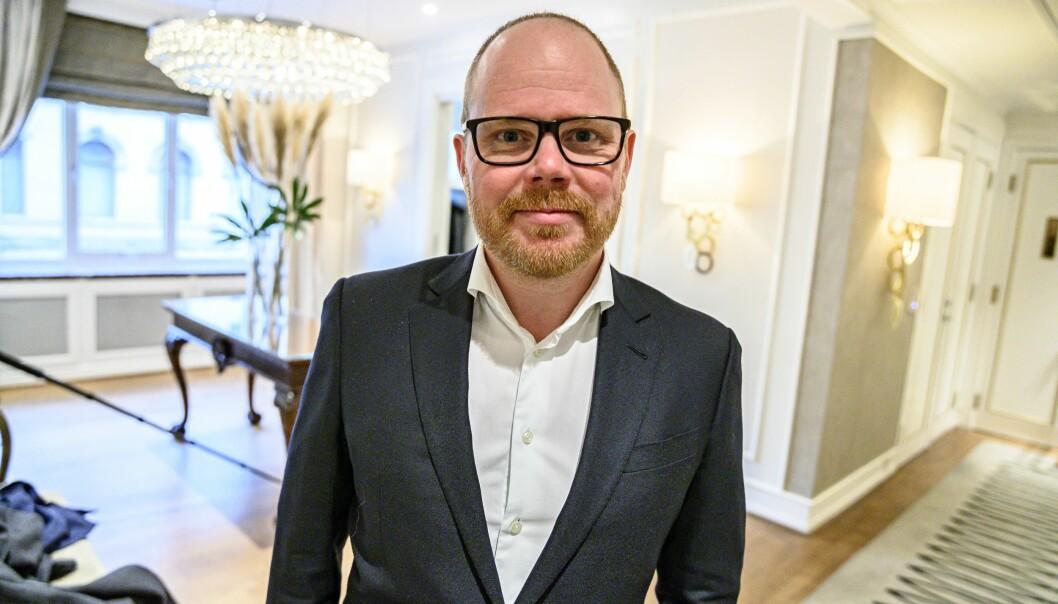 VGs sjefredaktør og administrerende direktør, Gard Steiro.