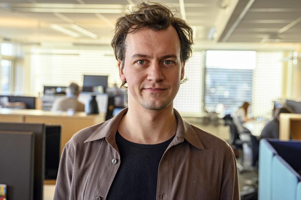 David Sviland er ny debatt-journalist i Vårt Land. Dermed er debatt-teamet i avisen nå fulltallig.