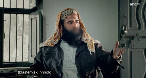 Her sensurerer NRK «blasfemisk innhald»: –What?! Kva driv dei med?