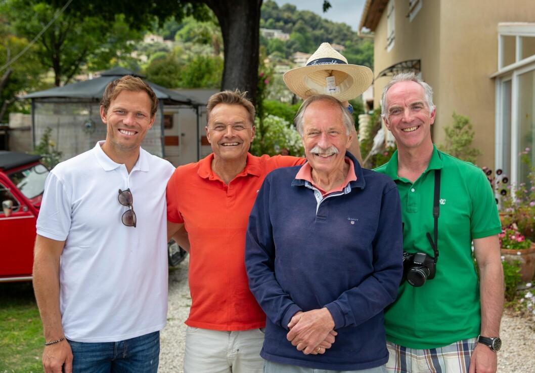 Tour de France på TV 2 sommeren 2019.Thor Hushovd, Dag Otto Lauritzen, Johan Kaggestad og Christian Paasche.