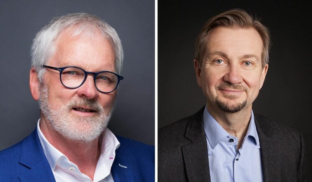 Stig Finslo i Amedia svarer Trygve Aas Olsen.