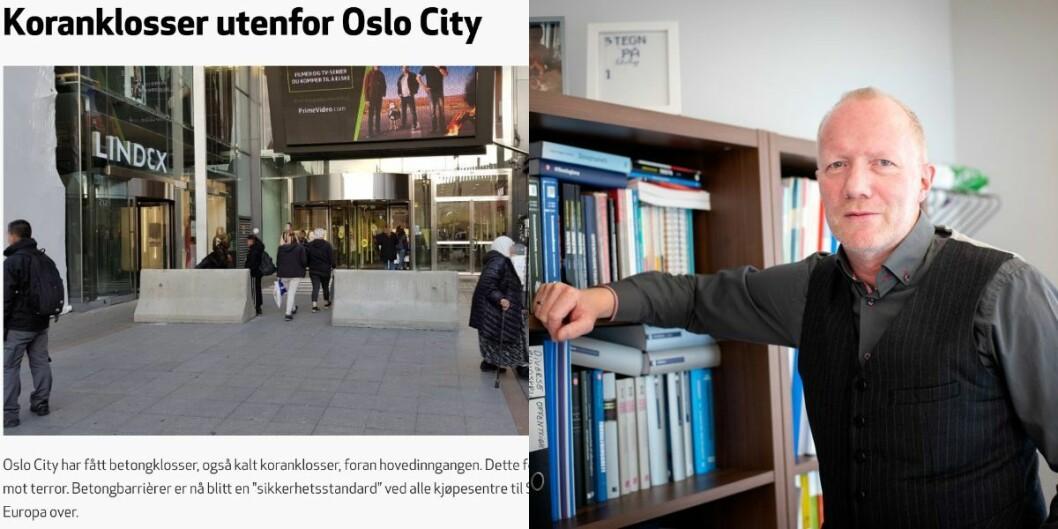 HRS' artikkel og generalsekretær Arne Jensen i Norsk Redaktørforening.
