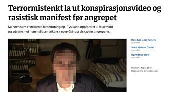 Dagbladet identifiserer mannen med fullt navn og bilde. NRK sladder