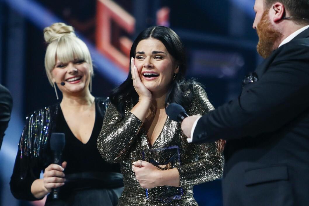 NRK har fått 2.500 henvendelser fra publikum om Melodi Grand Prix. Her fra da Ulrikke Brandstorp vant finalen i MGP i Trondheim spektrum.