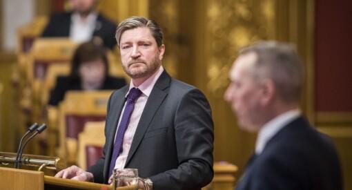Christian Tybring-Gjedde varslar boikott av DN sine politiske journalistar