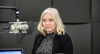 Tone Sofie Aglen om starten på journalistkarrieren: – Jeg gråt på kontoret og angret dypt og inderlig