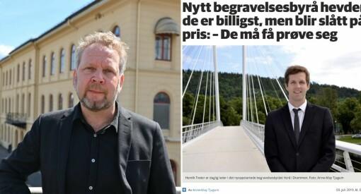 Drammens Tidende felt på to punkt i Vær Varsom-plakaten