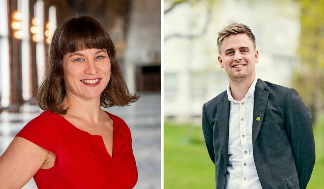 Både Rina Mariann Hansen (til venstre) og Eivind Trædal synes fortsatt Oslo-dekningen i mediene er for liten.