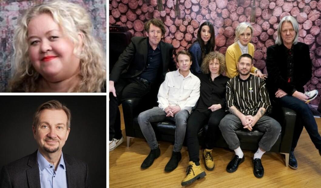 Trygve Aas Olsen reagerer på bindingene Pernille Torp-Holte har til flere av artistene som har deltatt i «Hver gang vi møtes» på TV 2.