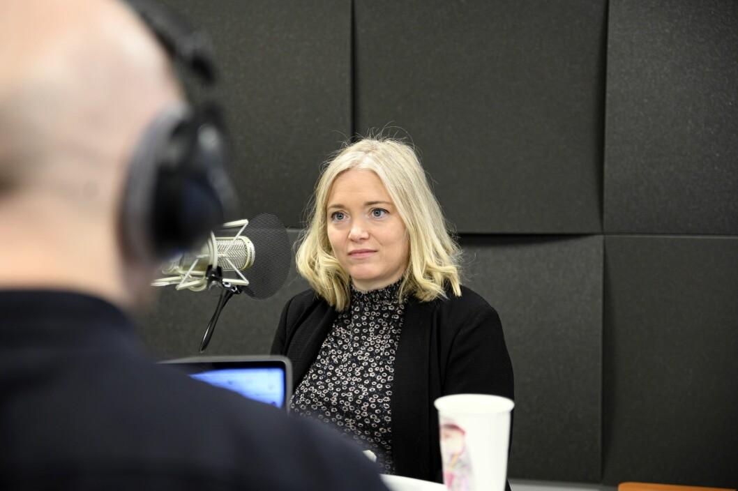 VG- kommentator Tone Sofie Aglen er gjest i andre episode av Pressepodden.