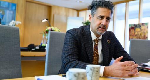 Abid Raja skroter omstridt mediestøtteråd