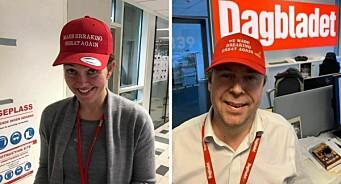 Full «caps-krig» mellom VG og Dagbladet: – Søtt. Som en lillebror som kopierer storebror