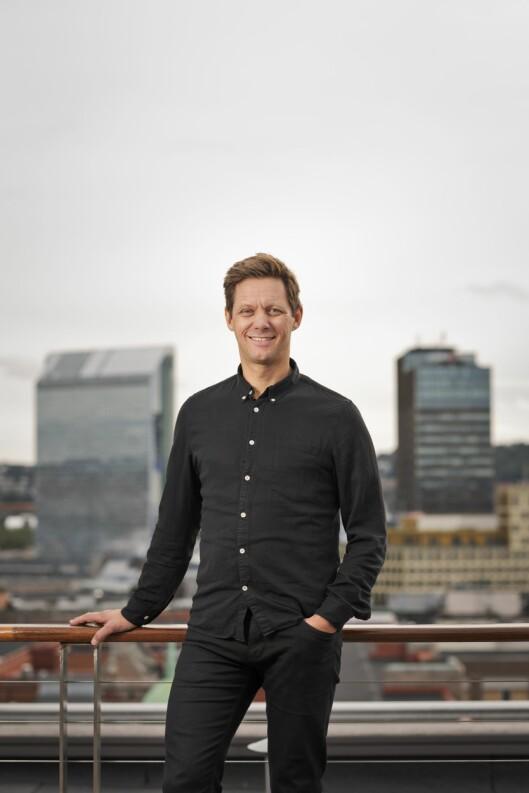 Sven Størmer Thaulow, teknologidirektør i Schibsted.