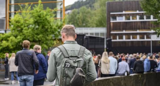 Medie-studentene i Volda er misfornøyde med studietilbudet: –Folk er oppgitte