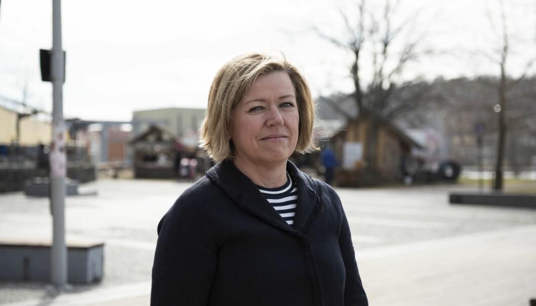 Nyhetsredaktør Tone Tveøy Strøm-Gundersen forteller i siste episode av «Tut & Mediekjør» at Aftenposten vil dempe belastningen på Laila AnitaBertheussen.
