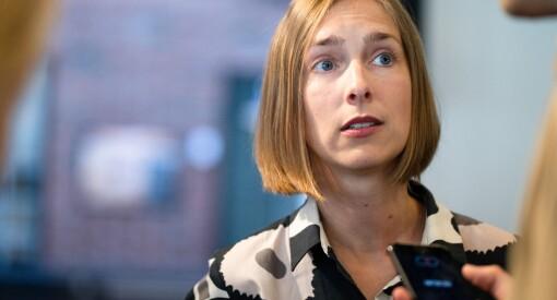 Venstre-topp Iselin Nybø hardt ut mot anonyme kilder